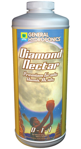 General Hydroponics® Diamond Nectar® 0 - 1 - 1 Quart - Quality-Grow-Hydroponics