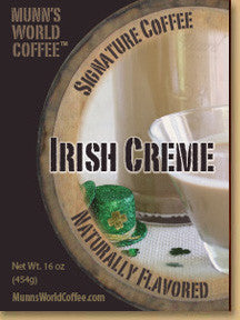 Irish Creme Flavored Coffee