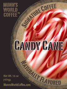 Candy Cane Flavored Coffee