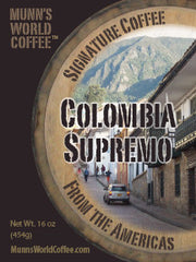 Colombia Supremo Coffee     .