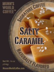 Salty Caramel Flavored Coffee