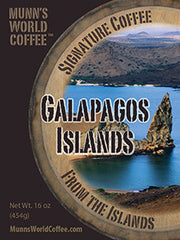 Galapagos Island Coffee Limited Edition
