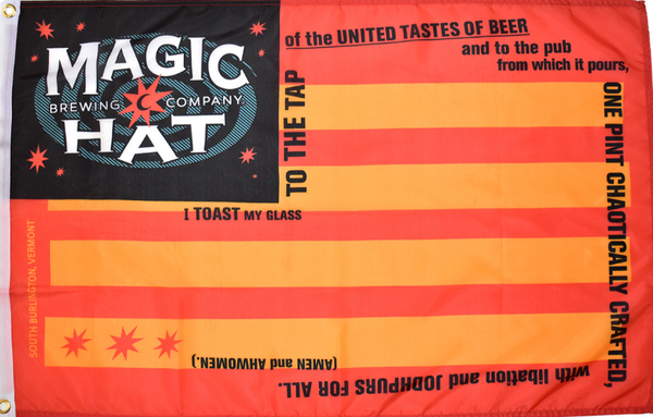Magic Hat Flag Photo