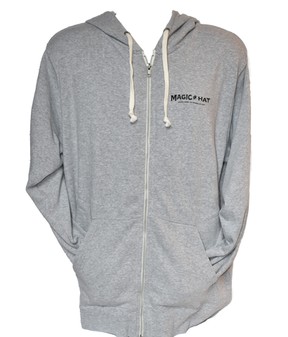 Grey Zip Hoodie Photo