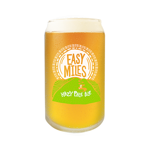 Easy Miles Pint Glass Photo