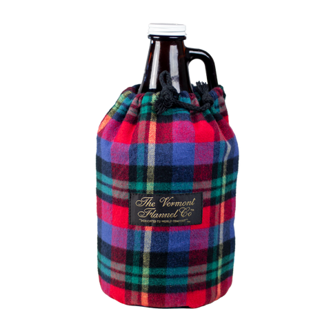 Flannel Growler Koozie Photo