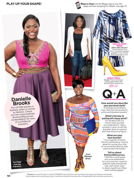 OITNB's Danielle Brooks Is Featured in People StyleWatch In Custom Tabii Just