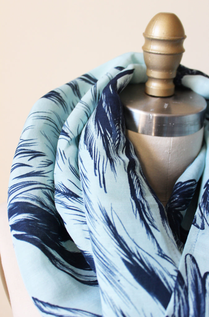Hummingbird Love Scarf - Tabii Just