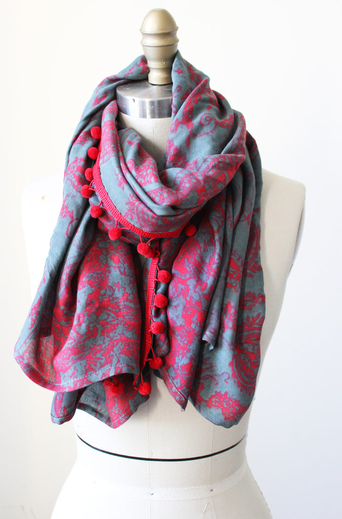 Old York New York Scarf - Tabii Just