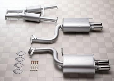 1983-1989 MITSUBISHI STARION HKS Turbo Exhaust - LET-M01 -