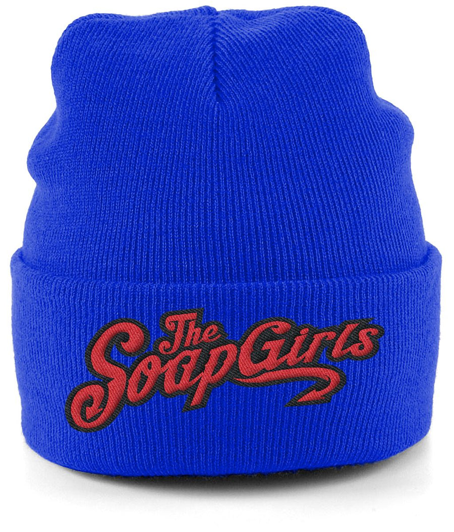 Cuffed Beanie - The SoapGirls Logo - The SoapGirls