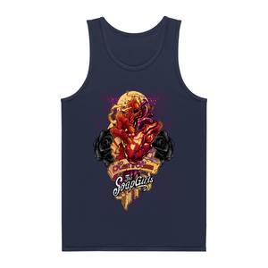 Mens Tank Top - Heart in Bloom - The SoapGirls
