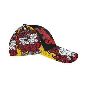 Snapback Cap All Over Print Mulit color - Voodoo Child - The SoapGirls