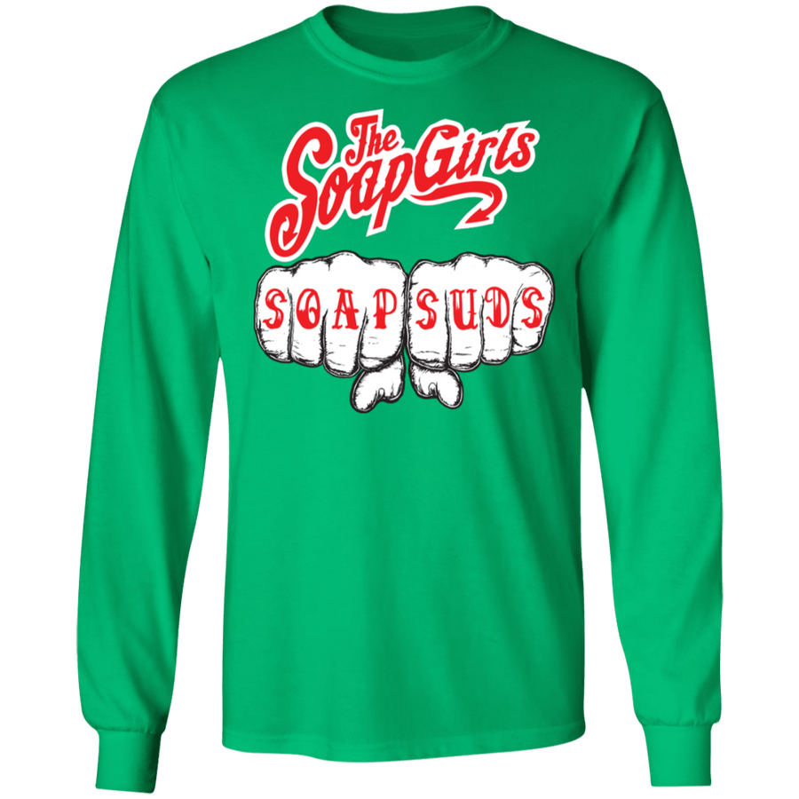Official Soap Suds Mens Long SLeeve T-Shirt - The SoapGirls