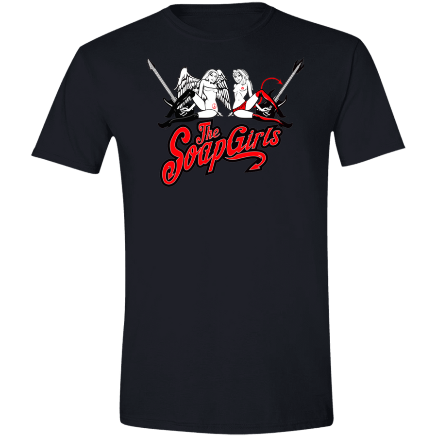 Official full Logo mens Softstyle T-Shirt - The SoapGirls