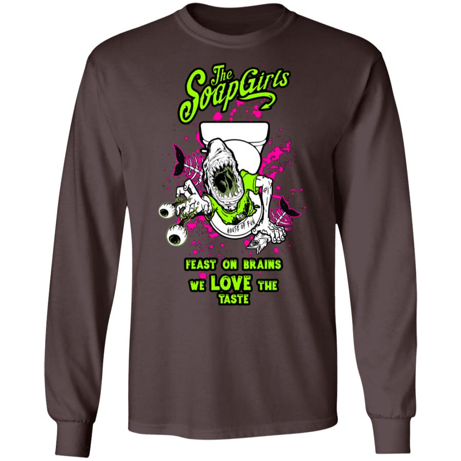 House of Fun Mens Long SLeeve T-Shirt - The SoapGirls