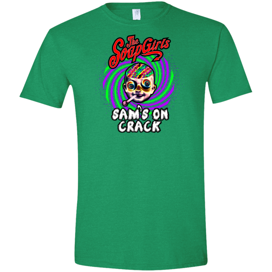 Sams on Crack Mens Softstyle T-Shirt - The SoapGirls