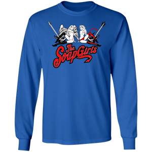 Official full logo Mens Long SLeeve T-Shirt - The SoapGirls