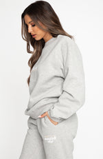 In The Know Sweater Grey Marle
