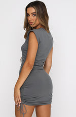 My Everything Mini Dress Charcoal