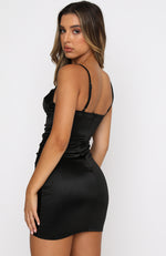 Jackpot Mini Dress Black