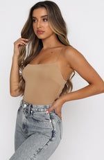 High Note Bodysuit Mocha