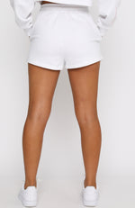 Cool But Not Trying Shorts White