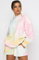 Date Night At Home Oversized Hoodie Popsicle
