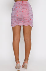 Timeless Love Mini Skirt Lilac Rose
