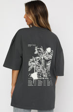 Lost In Translation Tee Charcoal