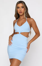 Dream Team Mini Dress Blue