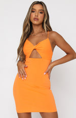Statement Of Love Mini Dress Orange