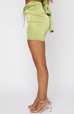 Mirror Image Mini Skirt Matcha