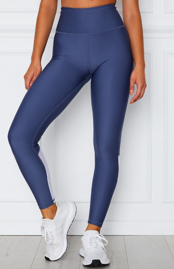 Alexis Panel Leggings Petrol