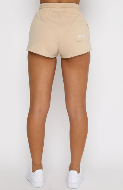 Ride Or Die Shorts Sand