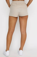 Endless Summer Lounge Shorts Sand