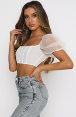 Is This Love Crop Ivory