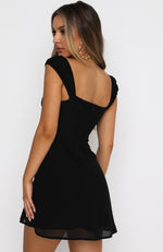 Simple Days Mini Dress Black