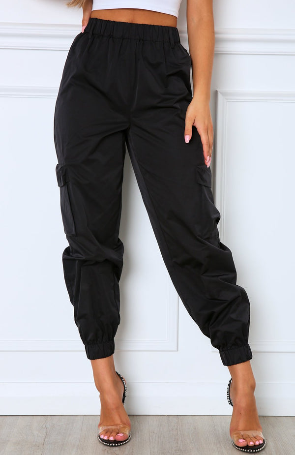Asset Cargo Pants Black