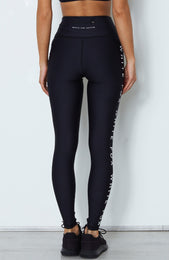 Bea Logo Leggings Midnight