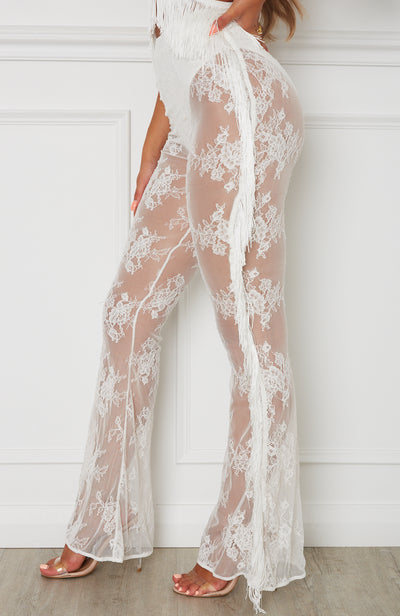 Wild Thoughts Pants White