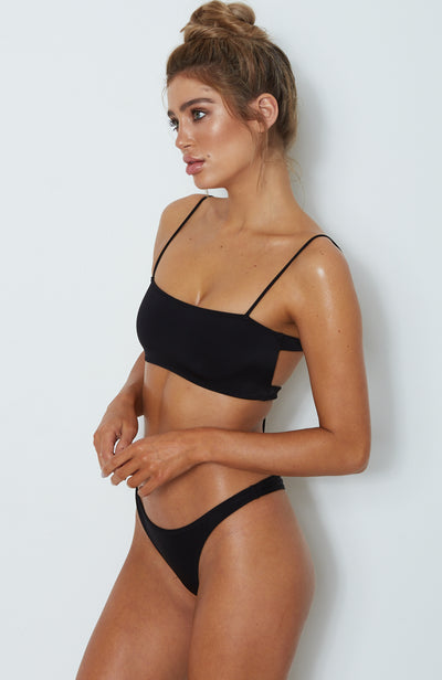 Messina Bikini Top Black