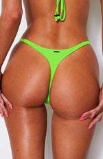 Hollywood Bottoms Neon Green