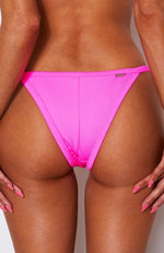 Sofia Bottoms Neon Pink Rib