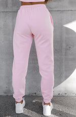 Up Late Sweatpants Pink