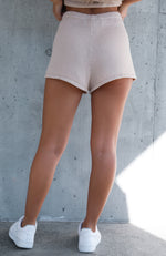 Why Not Knit Shorts Beige