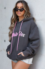 Don't Sugar Coat It Hoodie Charcoal