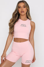 Essentials Club Tank Pink