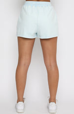 Down To Earth Shorts Washed Blue
