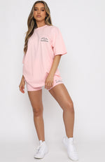 Essentials Club Tee Pink